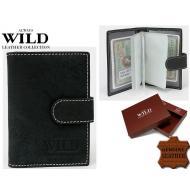 Kaarditasku 1001-11L-HL Black, ALWAYS WILD, Kaarditaskud ja visiitkaardihoidjad