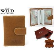 Kaarditasku 100L-5L Cognac, ALWAYS WILD, Kaarditaskud ja visiitkaardihoidjad