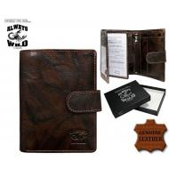 Meeste rahakott N4L-BCL Brown