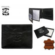 Meeste rahakott N992-BCL Black, ALWAYS WILD, Nahast rahakotid