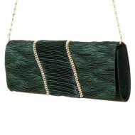 Naiste pidulik õhtukott Michelle Moon HD0531L Green, , Pidulikud kotid ja õhtukotid
