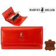 Naiste rahakott Harvey Miller Polo Club 3820-230 Red, HARVEY MILLER, Nahast rahakotid