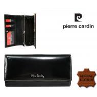 Naiste rahakott Pierre Cardin 456-PSP520.2 Black, PIERRE CARDIN, Nahast rahakotid