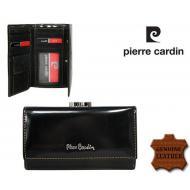 Naiste rahakott Pierre Cardin 457-PSP520.2 Black, PIERRE CARDIN, Nahast rahakotid