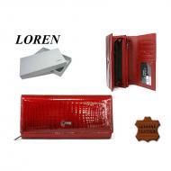 Naiste rahakott 55288-RSL Red, LOREN, Nahast rahakotid