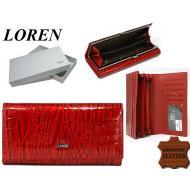 Naiste rahakott 72031-RNL Red, LOREN, Nahast rahakotid
