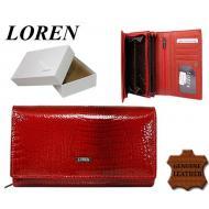 Naiste rahakott 72035-RSL Red, LOREN, Nahast rahakotid