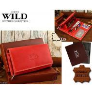 Naiste rahakott N22-MHL RED, ALWAYS WILD, Nahast rahakotid