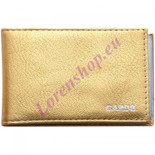 Kaarditasku 176906 Gold