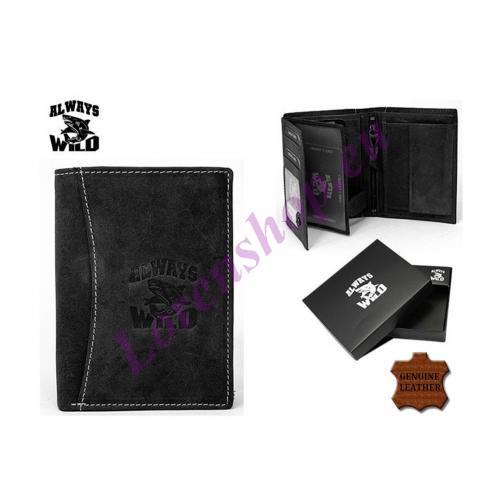 Meeste rahakott N4-HL Black