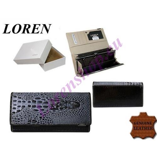 Naiste rahakott 72033-CRO-RCL Black