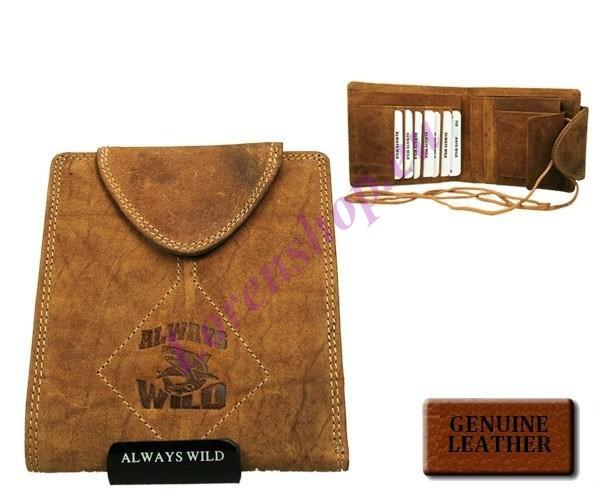5d50aa9941e Kaarditasku - rahakott P40-HL L.Tan, ALWAYS WILD, Nahast rahakotid