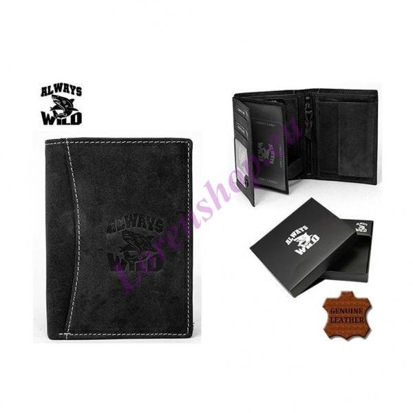 8e0964def7e Meeste rahakott N4-HL Black, ALWAYS WILD, Nahast rahakotid