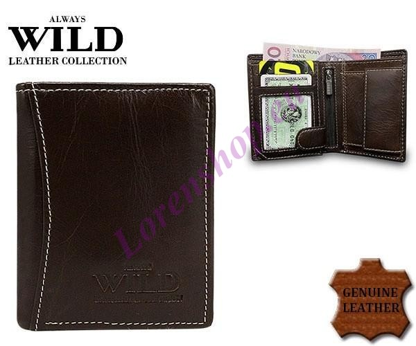 c8523d74199 Meeste väike rahakott 5131-1L Brown